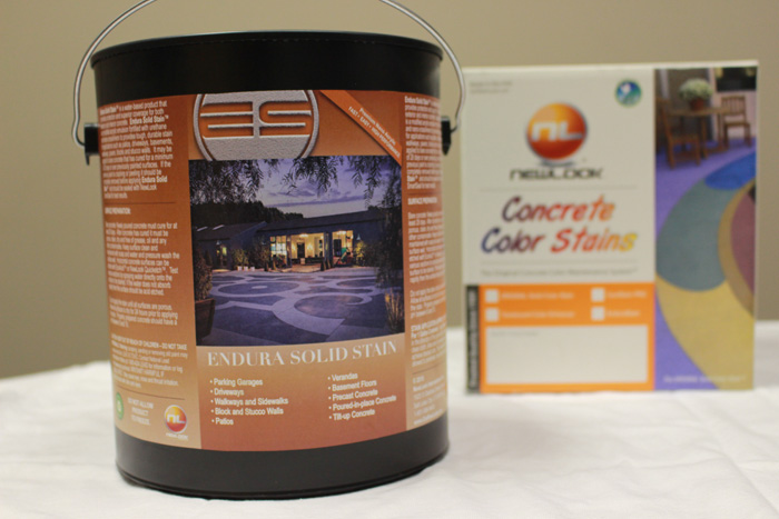 Solid Color Concrete Stains Single Component Stain