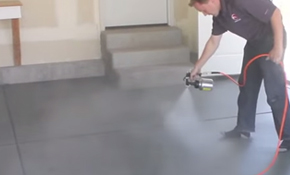 Smart Color Concrete Stain Video