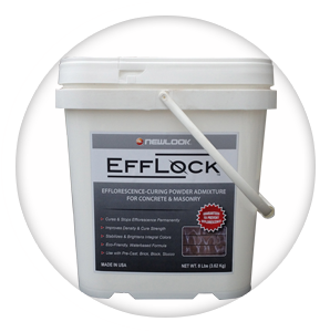 Efflock Efflorescence Powder Mixture