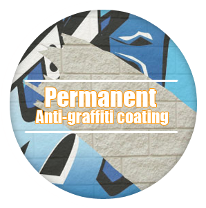 Permanent Anti-Graffiti Coating