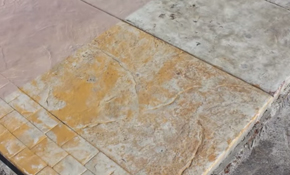 stamped concrete video